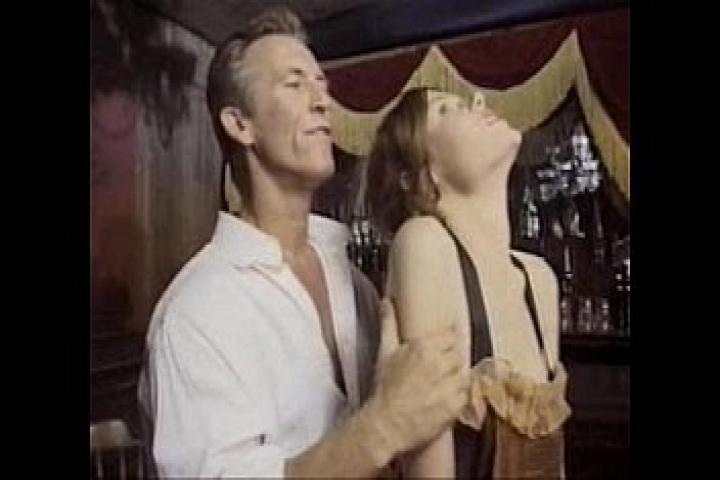 Ретро порно анальной девочки-целочки в стиле дикого запада